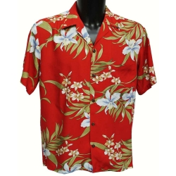 Chemise hawaienne PALI ORCHID