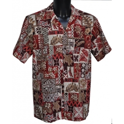 Chemise hawaienne PATCHWORK