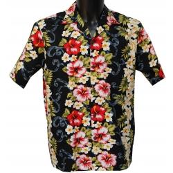 Chemise hawaienne PLUMERIA PANEL