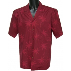 Chemise Hawaienne RED ON RED