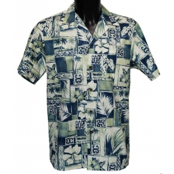Chemise Hawaienne REMEMBER HAWAII