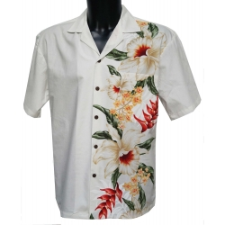 Chemise hawaienne SIDE FLOWERS