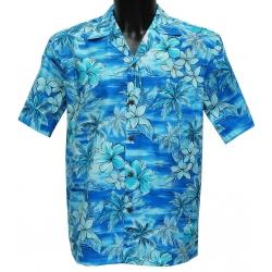 Chemise Hawaienne SKY BLUE