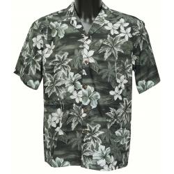 Chemise Hawaienne SKY GREY
