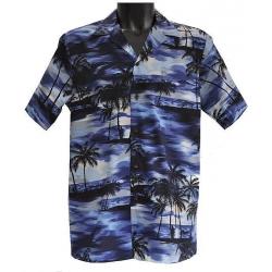 Chemise hawaienne SOIR D'ETE SUR HAWAI