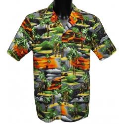 Chemise hawaienne TIKI ISLAND