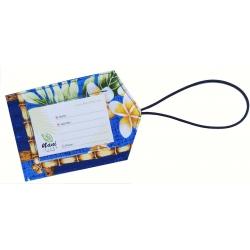 Etiquette Bagage Box of plumeria 1