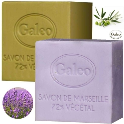 Lot de 2 savons de Marseille