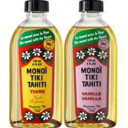 Lot Monoi Tiki Tiaré et Vanille