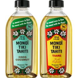 Lot Monoi Tiki Tiaré et Coco
