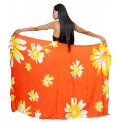 Paréo ORI TAHITI orange