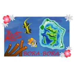 Paréo BORA BORA