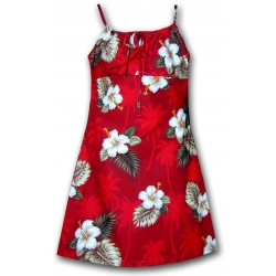 ROBE BIG ISLAND ROUGE