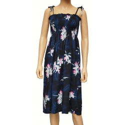 ROBE HAWAIENNE MIDNIGHT ORCHID