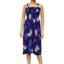 ROBE HAWAIENNE MIDNIGHT ORCHID PURPLE