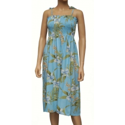 Robe Hawaienne PALI ORCHID BLUE