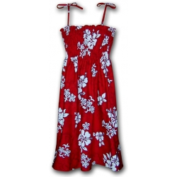 ROBE RED HAWAII SMOCKS