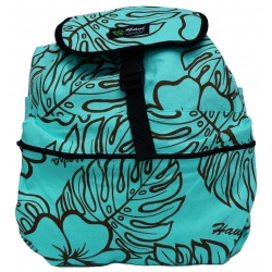 Sac à dos  Monstera lover turquoise