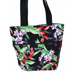 Sac fourre-tout reversible Hanging Heliconia noir
