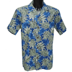Chemise Hawaienne BLUE AUTUMN