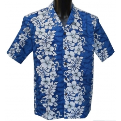 Chemise Hawaienne Floral lines