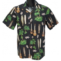 Chemise Hawaienne HAPPY HAWAII