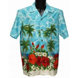Chemise hawaienne HAWAIIAN GARDEN