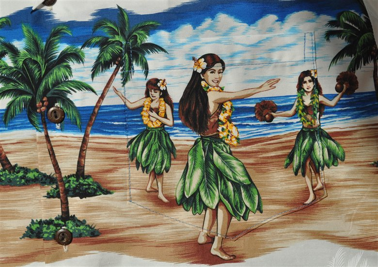 chemise hawaienne les vahin es danseuses hawaiennes. Black Bedroom Furniture Sets. Home Design Ideas