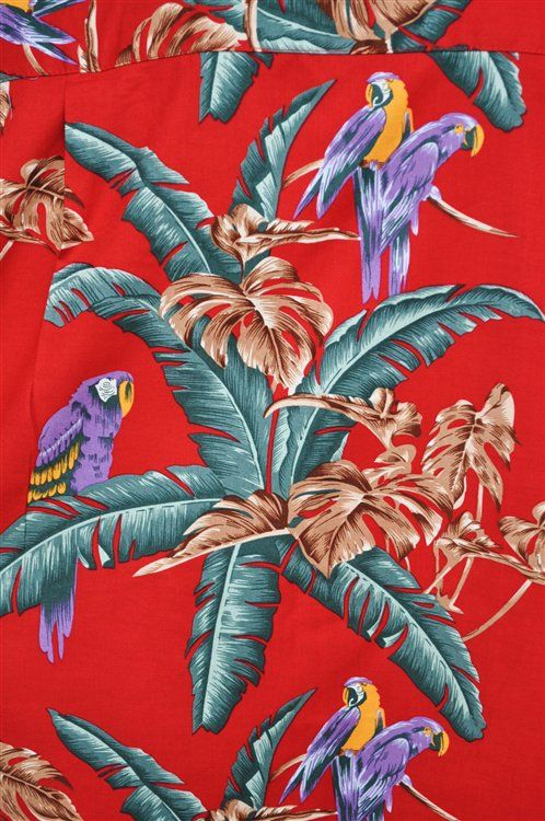 Chemise Hawaienne    Jungle Bird Magnum La Chemise De Tom