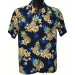 Chemise hawaienne GOLDEN PINEAPPLE