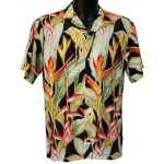 Chemise Hawaienne HELICONIA