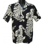 Chemise Hawaienne KING SIZE HIBISCUS
