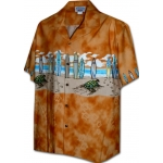 Chemise Hawaienne TURTLE STAMPING